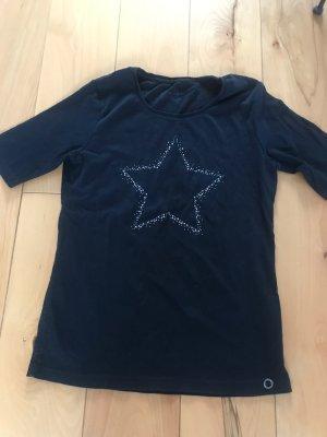 T-Shirt von Olsen, schwarz mit Stern