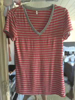T-Shirt von Palmers in rot grau Größe S