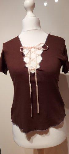 Phard T-shirt marrone-rosa pallido