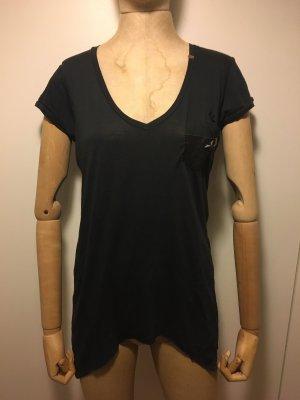 T-Shirt von Replay schwarz Größe 38