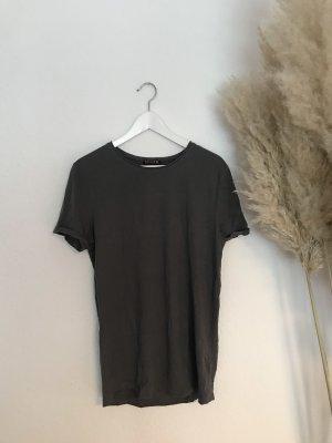 T-Shirt von Review in Grau