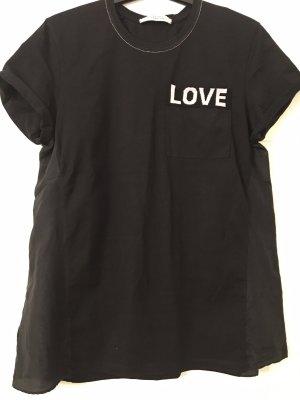 T-Shirt von Schumacher mit Seide