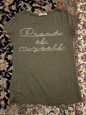 t-shirt von stefanel aus Viskose grau gr. M
