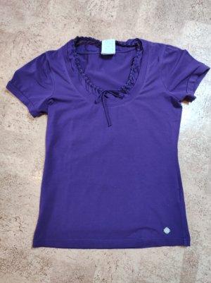 Street One T-Shirt dark violet