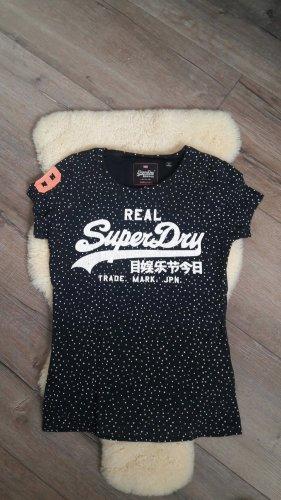 T-Shirt von Superdry, S, dunkelblau