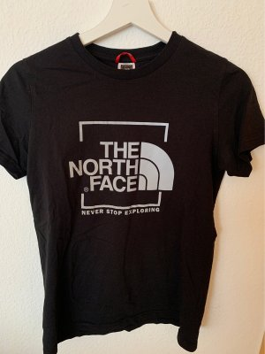 The North Face Camiseta estampada negro-color plata