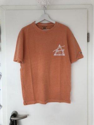 Tommy Hilfiger Camicia oversize arancione chiaro
