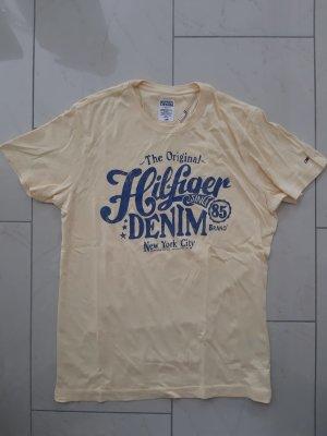 T-Shirt von Tommy Hilfiger Denim Gr. S in gelb