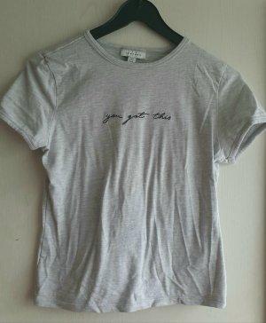 T-shirt von Topshop mit Schriftzug