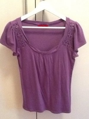 T-Shirt von Velvet in lila