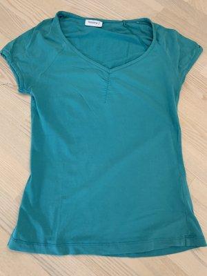 T-Shirt von Yessica, Gr. S, türkis