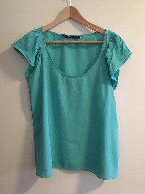 T-Shirt von Zara Basic in Größe L