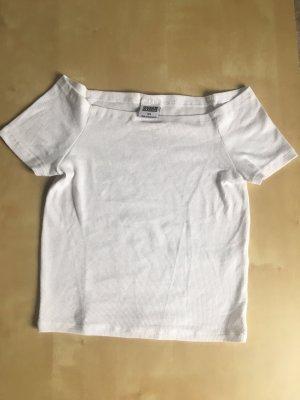 Urban Classics Camisa tipo Carmen blanco
