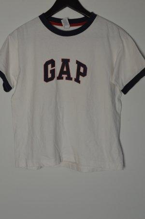 T-Shirt weiß GAP Vintage Retro Gr. S