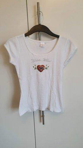 T-Shirt weiß Gr. S Vive Maria