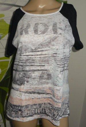 Betty Barclay Shirt met print wit-zwart