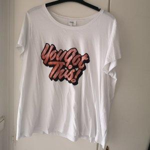 T-shirt Weiss Zizzi