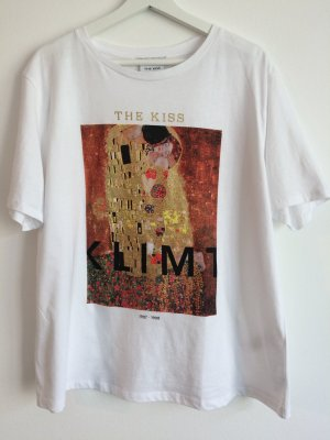 """T-Shirt with """"The Kiss"""" Print from Gustav Klimt"""