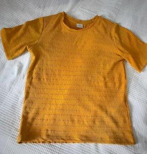 Only T-shirt złotopomarańczowy
