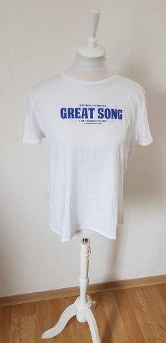 T-Shirt Zara Basic Gr. M