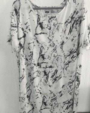 MTWTFSSWEEKDAY Camisa larga blanco-gris
