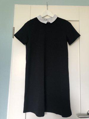 T-Shirtkleid mit Kragen