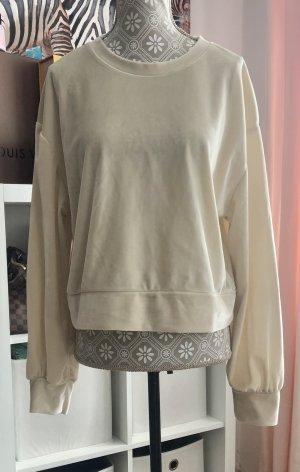 Zara T-shirt kremowy