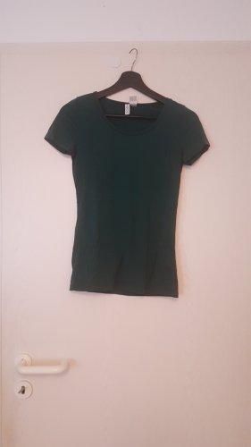 H&M Maglietta sport verde scuro