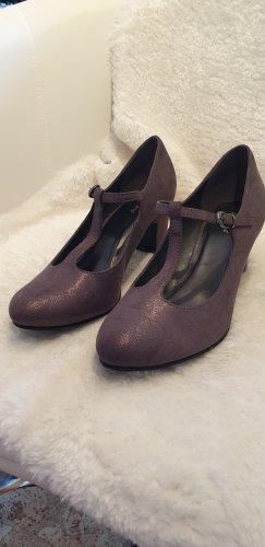 Graceland Escarpin à boucle gris foncé-gris brun synthétique
