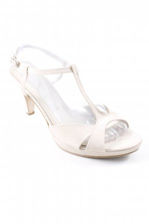 T-Strap Pumps natural white elegant