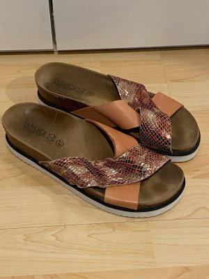 Tabarca Hausschuhe Gr.41 rose Schuhe Sandalen