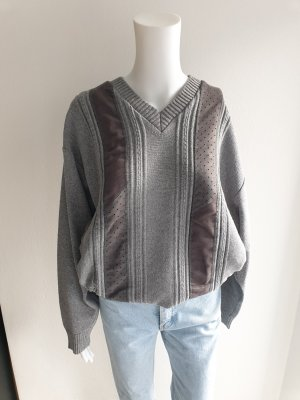 Vintage Oversized Sweater grey