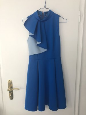 Tad Backer Kleid blau