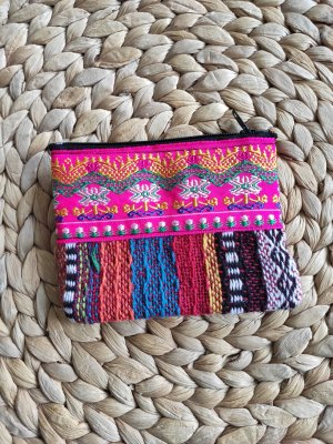 handmade Portefeuille multicolore