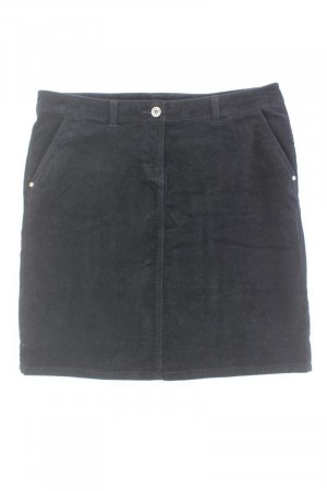 Tafzijde rok zwart Katoen