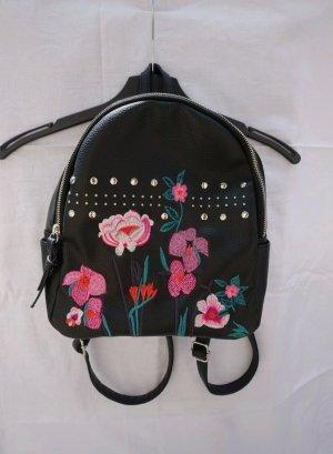 OVS Schoolrugzak zwart-roze