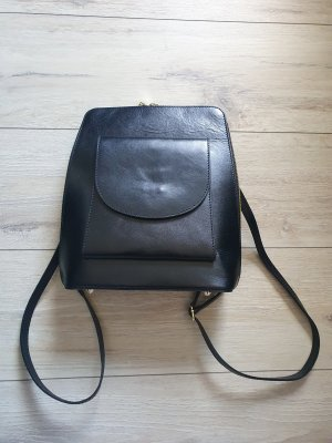 Zaino laptop nero Pelle