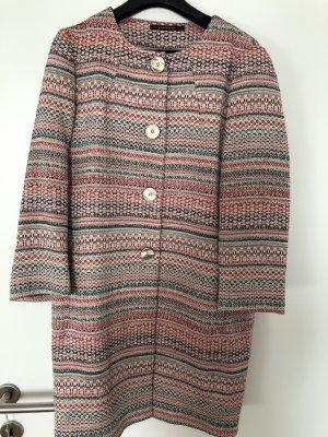 Tagliatore Between-Seasons-Coat multicolored