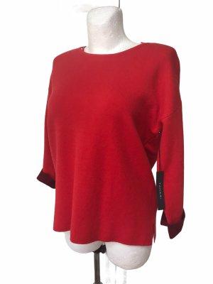 Tahari Damen Pullover Top Rot M