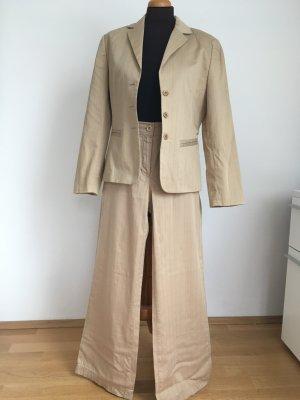 TAIFUN Anzug beige - Blazer und Hose