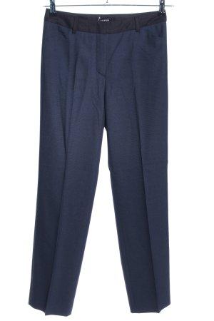 Taifun Pantalon de costume bleu style d'affaires