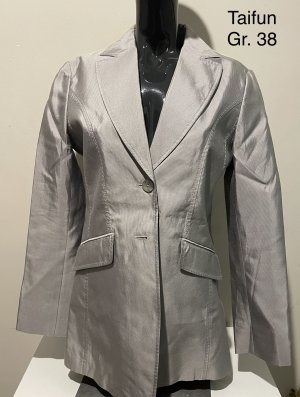 Taifun Klassischer Blazer silver-colored