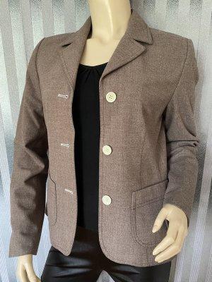 Taifun Jersey Blazer grey brown