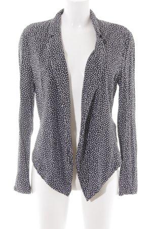 Taifun Blusenjacke schwarz-weiß schlichter Stil