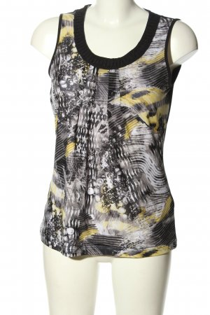 Taifun Blouse topje abstract patroon casual uitstraling