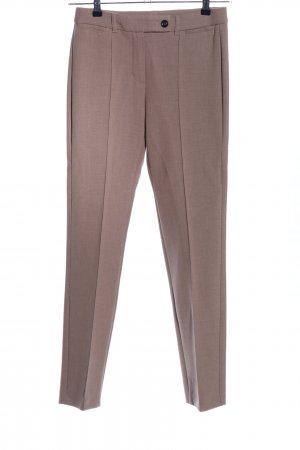 Taifun Bundfaltenhose braun Business-Look