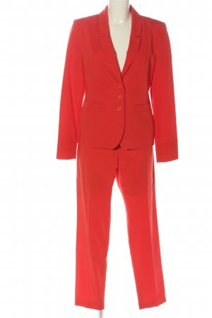 Taifun Trouser Suit red business style