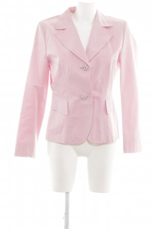 Taifun Jerseyblazer pink Allover-Druck Business-Look