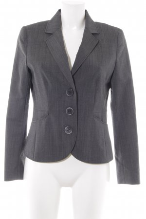 Taifun Jerseyblazer grau Business-Look