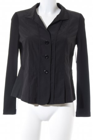 Taifun Jerseyblazer schwarz Business-Look